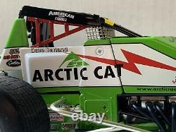 1/18 GMP 2003 AUTOGRAPHED DAVE DARLAND/ARTIC CAT #3ac DIECAST SPRINT CAR