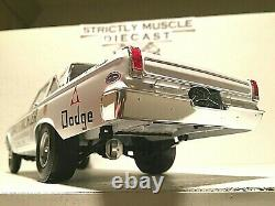 1/18 scale 1965 Dodge CORONET AWB HEMI Dave Strickler Drag Coupe-white ext