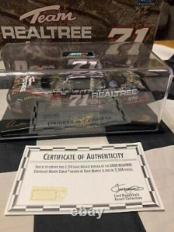 2000 Dave Marcis Autographed #71 Realtree Camouflage Chevy Revel HOTO 1/24