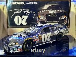 2005 Dave Blaney old#07 Jack Daniel's Monte Carlo Color Chrome 1/24 scale signed