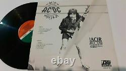 AC/DC High Voltage Ultra / Alto Voltaje Rare 12 Promo Mexico LP Dave Evans