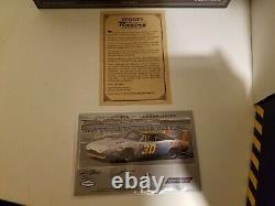 Autographed University of Racing 1969 Dave Marcis #30 Dodge Charger Daytona 1/24