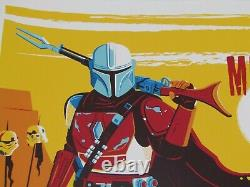 Chapter One The Mandalorian Screen Print By Dave Perillo Mondo Artist Bng