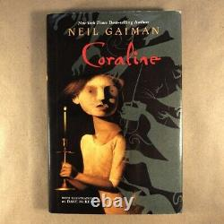 Coraline by Neil Gaiman & Dave McKean (Limited First Edition, Hardcover)