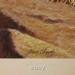 DAVE CHAPPLE S/N LE 111/850 California Quail Edition Quail Unlimited Print