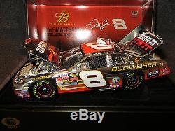 Dale Earnhardt Jr #066/360 PLATINUM Budweiser / Dave Matthews 2004 1/24 #8 Elite