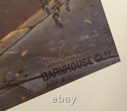 Dave Barnhouse Sunset Strip Signed Numbered Lithograph 125/1950