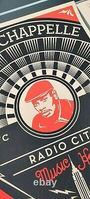 Dave Chappelle NYC by Shepard Fairey Signed #d/300 Obey Art Print Poster
