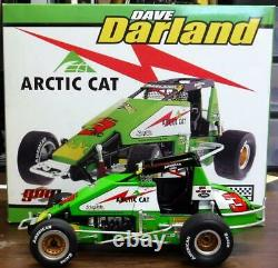Dave Darland #3 Artic Cat Sprint Car 118th Diecast GMP Limited Edition RARE