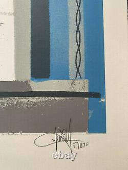 Dave Kinsey Signed Limited Edition 2007 Urban Art Screen print