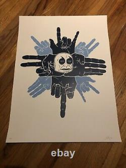 Dave Kinsey Unilateralism silkscreen limited edition rare graffiti