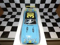 Dave Marcis #30 Winter Park Dodge 69 Charger Daytona 124 scale AUTOGRAPHED
