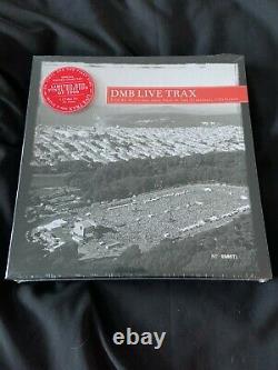 Dave Matthews Band DMB LIVE TRAX Vol. 2 5 X Red Vinyl LP 2013 RSD Release