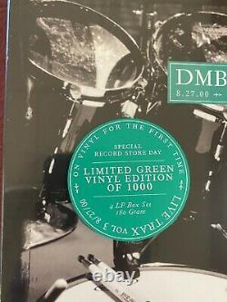 Dave Matthews Band DMB LIVE Trax Vol 3 Green Vinyl 4 LP Numbered 2013 Sealed