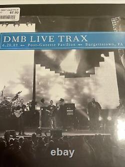 Dave Matthews Band DMB Live Trax Vol 35 Burgettstown PA 5LP Aqua Blue Vinyl RSD