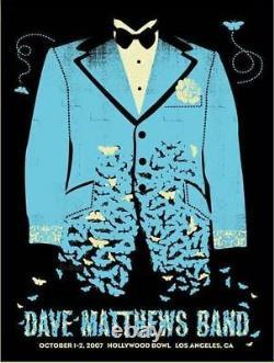 Dave Matthews Band Hollywood Bowl Los Angeles 2007 Methane Studios Poster Print