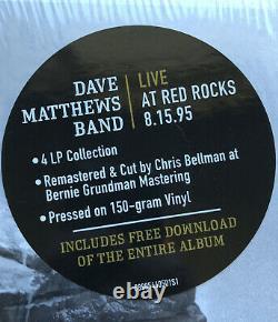 Dave Matthews Band Live At Red Rocks 8.15.95 4xLP Box Set 180gram Near Mint
