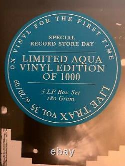 Dave Matthews Band Live Trax 35 Aqua Vinyl #376/1000 Sealed