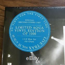 Dave Matthews Band Live Trax 35 Vinyl Aqua Colored 6.20.09