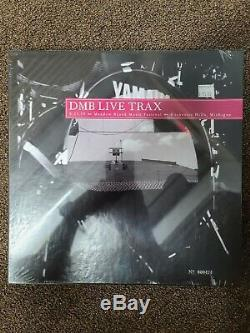 Dave Matthews Band Live Trax Vol 1 Vol 5, Incl. Vol 1 Blue Vinyl #25/500