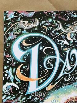 Dave Matthews Band Poster Virginia Beach 2018 Miles Tsang Signed & Numbered Ae