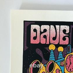 Dave Matthews Band Summer Tour Poster Methane Studios Limited Edition
