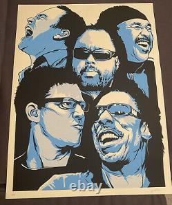 Dave Matthews Band poster by Joshua Budich Limited edition signed & numbered Dmb