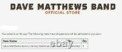 Dave Matthews Band x Danny Steinman 2-Pin Combo Limited Edition SHIPPED