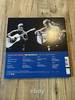 Dave Matthews & Tim Reynolds Live At Luther College 4xLP Colored Vinyl RSD BF