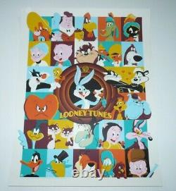 Dave Perillo screen print Looney Tunes (2019) officially licensed Bottleneck