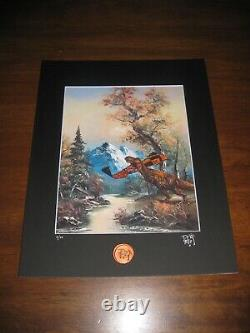 Dave Pollot JURASSIC PARK Matted Print Gallery 1988 Passengers Edition of 10