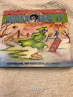 Dave's Picks, Vol. 13 Winterland, San Francisco, CA 2/24/74 Grateful Dead NEW