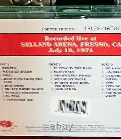 Dave's Picks, Vol. 17 Selland Arena, Fresno, CA 7/19/74 Grateful Dead NEW