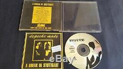 Depeche Mode 1992 Live CD Stuttgart Germany Soundsystem Fails Dave sings acousti