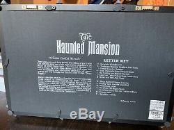 Disney Haunted Mansion Limited Edition Shadowbox by Dave Avanzino Disneyland