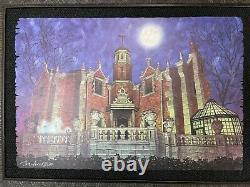 Disney Parks Haunted Mansion WDW Dave Avanzino Wood Print Limited Edition