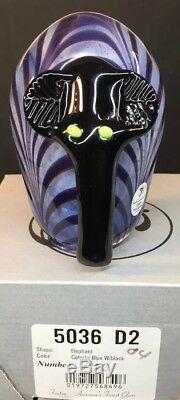 Fenton Art Glass / Dave Fetty Elephant In Original Box LIMITED EDITION