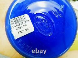 Fenton Art Glass Dave Fetty Hanging Hearts Braveheart Vase Platinum Collection
