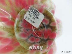Fenton Dave Fetty 6856 BA Cutting Garden Ltd Ed Burmese Vase w Original Labels