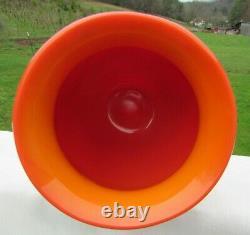 Fenton Robert Barber Dave Fetty 1975 Hanging Hearts Vase H #369/750 8H x 6.5W