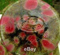 Fenton Studio Art Glass Dave Fetty VaseCutting Garden L. E. #119/500 6.5H-RARE