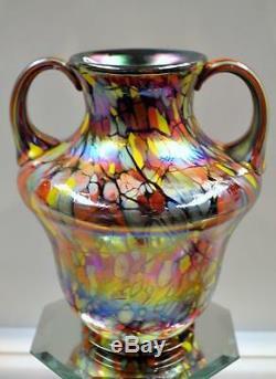 GEORGE FENTON VASE MOSAIC TILE Dave Fetty Crayons Centennial 2005#d937 FREEusaSH