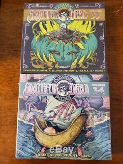 GRATEFUL DEAD DAVE'S PICKS. BRAND NEWithSEALED VOLUMES 1-34