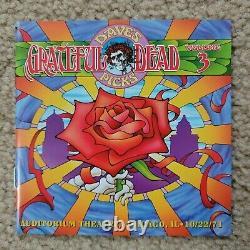 GRATEFUL DEAD DAVE'S PICKS VOL. 3 3-CD SET COMPLETE 10/22/71 Chicago MINT