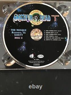 GRATEFUL DEAD DAVE'S PICKS VOLUME 1, 3CD Album. Mosque, Richmond VA 5/25/77. NM