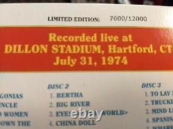 GRATEFUL DEAD DAVE'S PICKS Vol. 2, 3 CD Album, Dillon, Hartford, CT 7/31/74 NICE