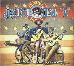 GRATEFUL DEAD Dave's Picks 8 FOX THEATRE Atlanta GA 11/30/80 532998 Still sealed