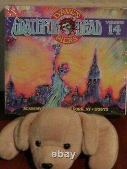 GRATEFUL DEAD Dave's Picks Vol 14 NYC NY New York 1972 with Bonus CD NEW SEALED