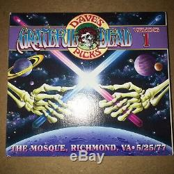Grateful Dead CD Dave's Picks Vol 1 5/25/77 Mosque Richmond VA Unnumbered RARE