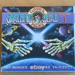 Grateful Dead Dave's Picks #1 Mosque 5/25/77 Case Good Discs Clean #2489/12000